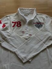 SANSIBAR Sylt  Limited Edition Polohemd Poloshirt Shirt Gr. L 40, Weiß! Schick!