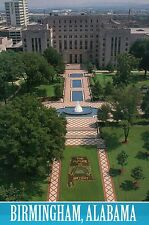 Linn Park, Downtown Birmingham, Alabama, Jefferson County Courthouse - Postcard