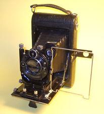 ICA Halloh 510 - Antique 9x12cm Folding Rollfilm Camera in very good condition!
