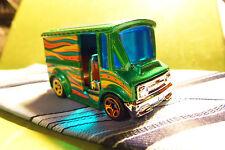 Hotwheels Hot Wheels Groovy Green Bread Box Van Car CASE FRESH ZERO PLAY #1