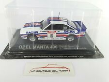 OPEL MANTA 400 TOUR DE CORSE G. FREQUELIN 1983 ALTAYA ESCALA 1:43