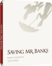 Saving Mr Banks - Limited Edition Blu-Ray SteelBook / Emma Thompson, Tom Hanks