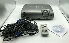 Epson PowerLite EMP-82 LCD Projector HD w Remote and Manuals