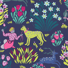 Splendor - Forest Friends Midnight by Amy Butler - Quilting Fabric