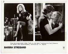 BARBRA STREISAND, KRIS KRISTOFFERSON Vintage Photo VIDEO PROMO Sexy Leggy SINGER