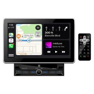 "Dual Dmcpa11Bt 10.1"" Double Din Mechless Digital Media Receiver Apple Carplay"