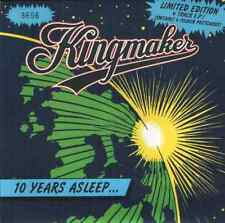 "Kingmaker-10 years asleep.7"" + postcards."