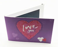 Recordable Video Love You Card - 7'' HD Screen - 256mb