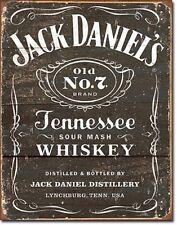 Jack Daniels Old No.7 Whiskey Novelty Tin Sign Bar Wall Poster Decor