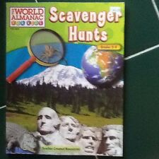 The World Almanac For Kids Scavenger Hunts Grades 3-5