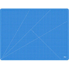 """36"""" x 48"""" PINK/BLUE Self Healing 5-Ply Double Sided Durable PVC Cutting Mat"""