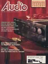 Audio Mag Jun 1991 Yamaha DSP-A1000, KEF 105/3, Sony TA-E1000ESD,Air Tight ATM-1