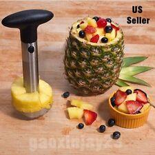 Pineapple Corer Slicer Cutter Peeler Stainless Steel Kitchen Easy Gadget Fr