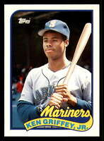 1989 Topps Traded Series #41T Ken Griffey Jr. RC Rookie Seattle Mariners  Offici