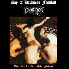 "Demigod ""Day Of Darkness Festifall (Live 23.08.91 Oulu Finland)"" CD DEATH METAL"