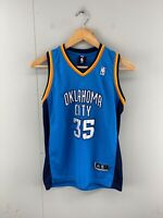 Adidas NBA Oklahoma City Youth Kevin Durant #35 Basketball Jersey Size10 Blue