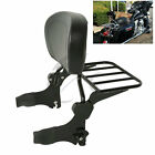 Backrest Sissy Bar Luggage Rack For Harley Davidson Touring Road King Glide New