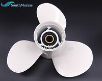 11 3/8x12 Aluminum Alloy Propeller for Yamaha 25HP-60HP 69W-45952-00 Outboard