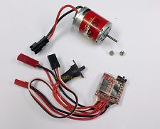 k069k- 1x high speed 370 Brushed Motor with 20A ESC  for RC boat , on road car
