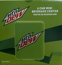 New listing New! Mountain Dew 6-can Mini Fridge Mis134Md, Green