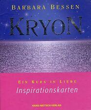 KRYON - Inspirationskarten Set von Barbara Bessen - Hans-Nietsch Verlag