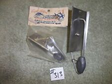 2-CAPT ACTION DEEP TROLLER SOLID STAINLESS STEEL SPOONS  #313