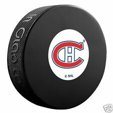 "Montreal Canadiens ""Original Six Vintage Logo"" Model Souvenir Puck New Habs"