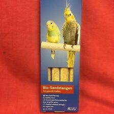 Quartz Bio Sanded Perch Covers 4 x 7.5 inch Healthy Claws Budgie Canary Finch
