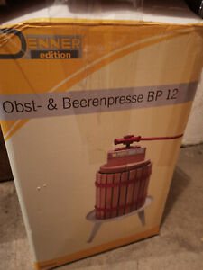 Obst- und Beerenpresse BP12