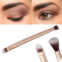2in1 One Makeup Eye Powder Foundation Eyeshadow Blending Double-Ended Brush Pen
