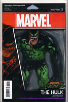 ABSOLUTE CARNAGE#4 (VENOM/HULK ZOMBIOTE ACTION FIGURE VARIANT) COMIC BOOK
