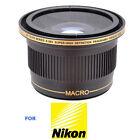 0.38X WIDE ANGLE MACRO LENS FOR NIKON D3100 D40 D80 D90 D5000 D300S D3000 D5500