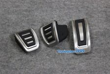 Foot Fuel Brake MT pedals Plate Cover For Audi A3 S3  (8V)  2013-up