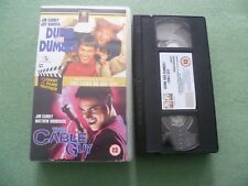 DUMB & DUMBER & CABLE GUY VHS