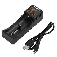 LiitoKala Lii-100 Battery Charger for 1.2V/3.7V/3.2V/3.85V AAA 18650/18350 L0J0