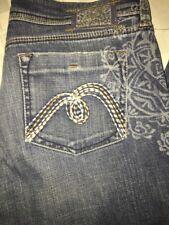 Mavi Zoe Flare Jeans Women's Size 29 long 32 X 33 stitch pockets vintage stretch