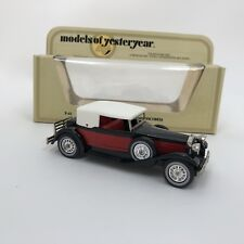 matchbox model of yesteryear 1930 Packard Victoria Y 15 diecast model car boxed