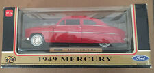 Motormax 68025 1:24 1949 Mercury Custom Coupe Red New in Box
