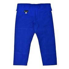 JIUJITSUFIED Kids BJJ Ripstop Gi Pants, rip stop, Brazilian Jiu Jitsu, blue, M1
