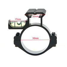 Hunting 20mm Picatinny Rail Scope Mount with Spirit Bubble Level for 30mm Ring