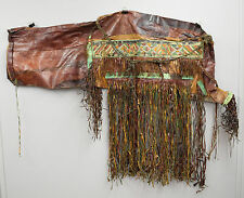 African Saddlebag Mali Tuareg Leather Saddlebag Camel Travel Bag North Africa