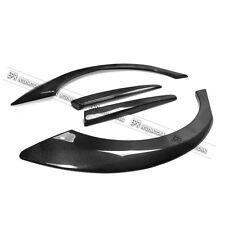 M & M Rear Wide Fender Flares Kit Cap For Honda Civic FD2 Carbon Fiber
