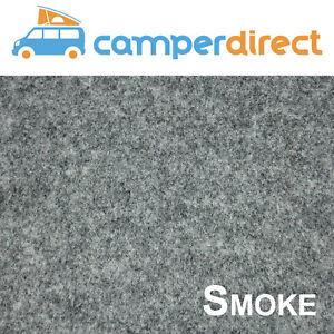 20 Sq Mtrs Smoke Van Lining Carpet Kit 4 Way Stretch Inc 10 Tins High Temp Spray