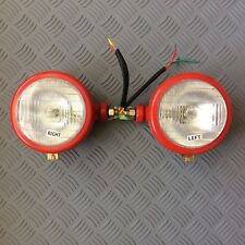 Massey Ferguson 35, 65 Tractor Headlights,Side Mounted,  pair