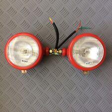 Massey Ferguson Headlights Side Mounted 35, 65   pair