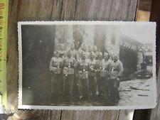 PHOTO ORIGINALE WW2 Soldats Allemands ? endroit a determiner 39 / 45