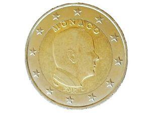2 Euro PRINCIPATO DI MONACO 2017 - ALBERTO II, errore di conio esubero circolata