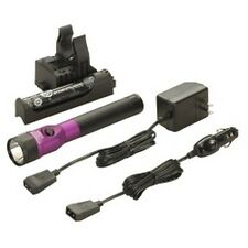 Streamlight 75978 Stinger DS LED Rechargeable Flashlight with AC/DC - Purple