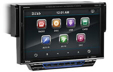 "BOSS BV8972 SINGLE 1 DIN CAR DVD/CD PLAYER 7"" MONITOR iPOD/USB COLOR CHANGING"