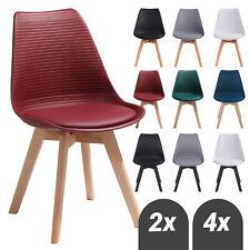 Esszimmerstühle Küchenstühle mit Beinen aus Massiv-Holz Wohnzimmerstuhl